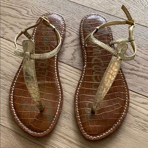 Sam Edelman Gigi sandal gold size 8.5